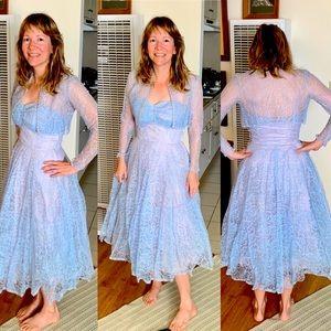 1950s True Vintage Lace Dress